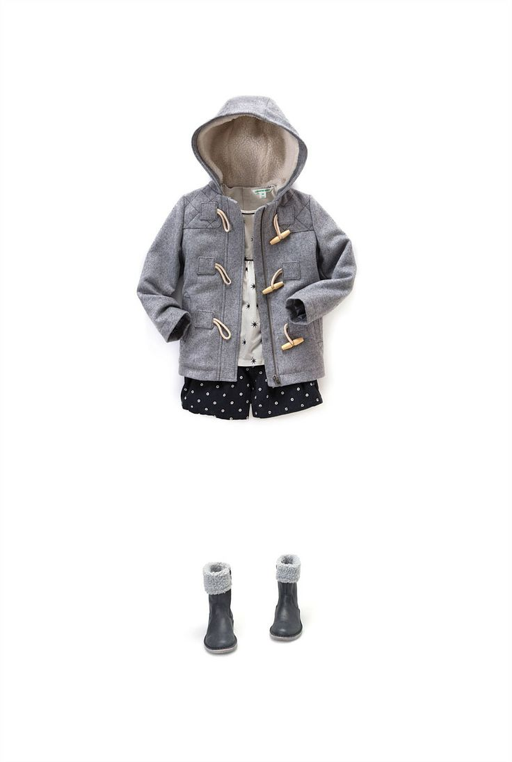 Girl's Jackets & Coats | Country Road Online - Duffle Coat