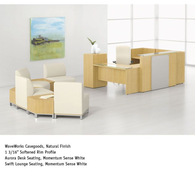 reception area furniture office furniture. National Office Furniture - WaveWorks ADA Reception Casegoods, With Swift Lounge Seating In Lobby/reception Area. Area