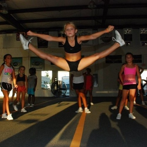 Toe Touch by Cassadee Dublap from cheer perfection! Mine will soon be like that! :)