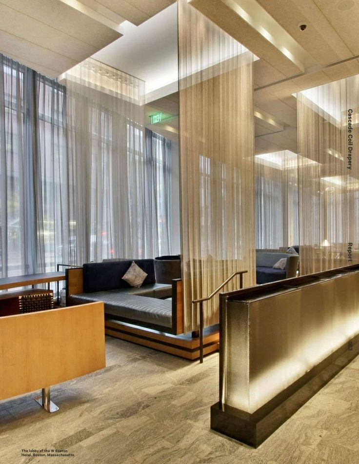Restaurant sheer curtains draped google search design for Design hotel f 6 genf
