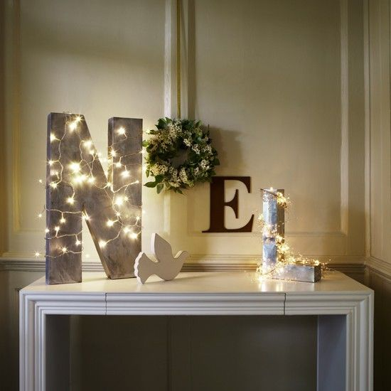 Noel: Create a festive table display | Christmas light decorating ideas - Noel Christmas Decorations My Web Value