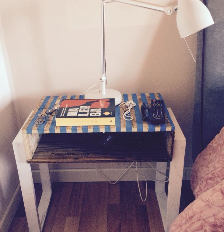 Homemade Bedside Table