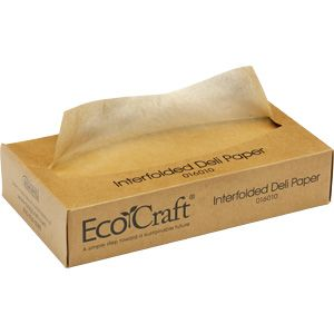 "EcoCraft Interfold Soy Wax Deli Sheets (6"", 8"", 10"", 12"", and 15"") 