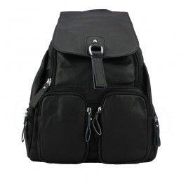 Genuine Leather Women Designer Large Backpack Black School Casual Travel Shoulder Bag BC-988