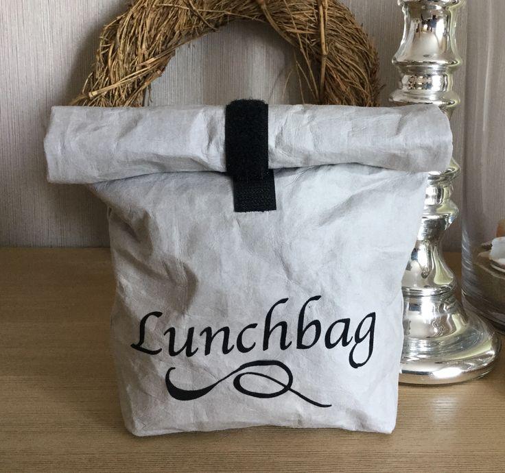 Lunchbag aus SnapPap von Snaply