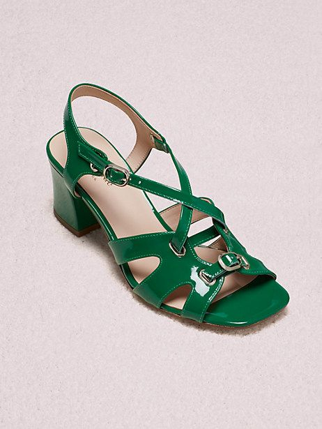 b586139f382 Kate Spade Ella Sandals, Green Bean - Size 5.5 | Products in 2019 ...