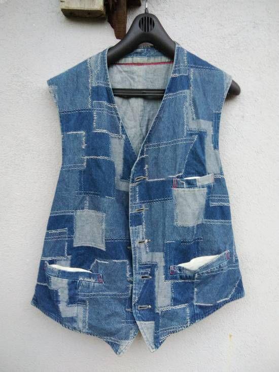 Blue Blue Japan Blue Blue Japan Vest Reversible Light Denim #617 Size l - Tank Tops & Sleeveless for Sale - Grailed