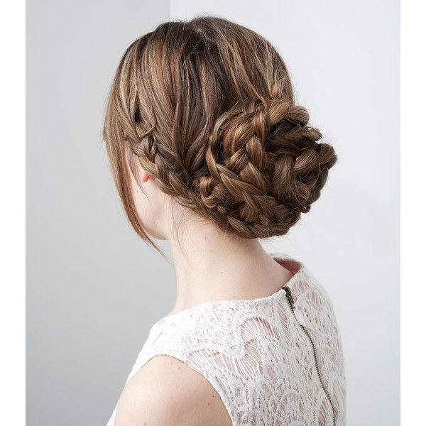 In the Thick of It 3 Fancy Hairstyles for Thick Hair ❤ liked on Polyvore featuring beauty products, haircare, hair styling tools, hair, hairstyles, beauty, hair styles and cabelo