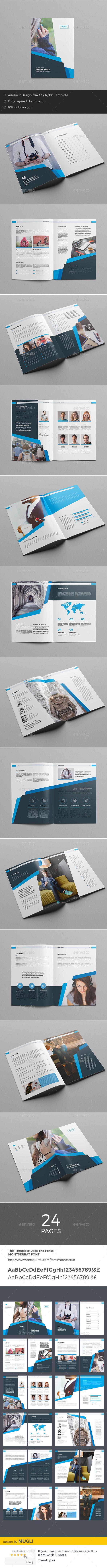 Business Brochure  — InDesign Template #swiss #portfolio • Download ➝ https://graphicriver.net/item/business-brochure/18299169?ref=pxcr