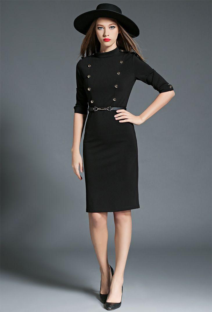 #Little black dress!Nu poti da niciodata gres cu o #rochie neagra, in tinute office, casual sau elegante!