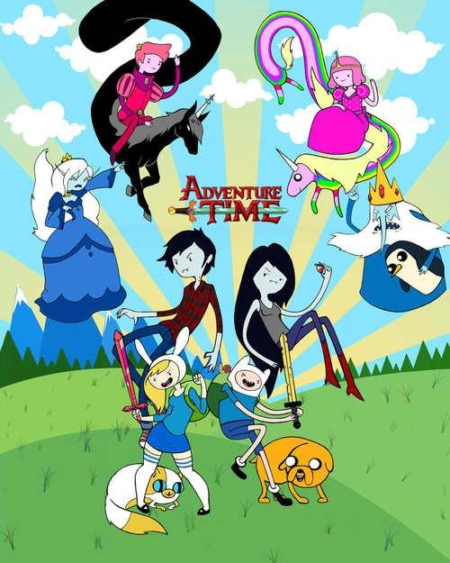 Fionna & Cake - Adventure Time