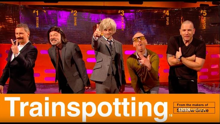 The Trainspotting Cast Recreate Their Famous Movie Poster - The Graham ...
