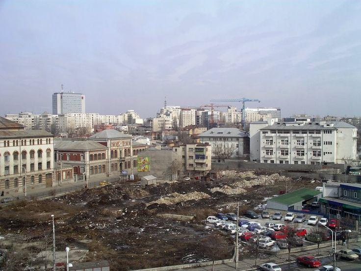 Bucarest la gare du nord