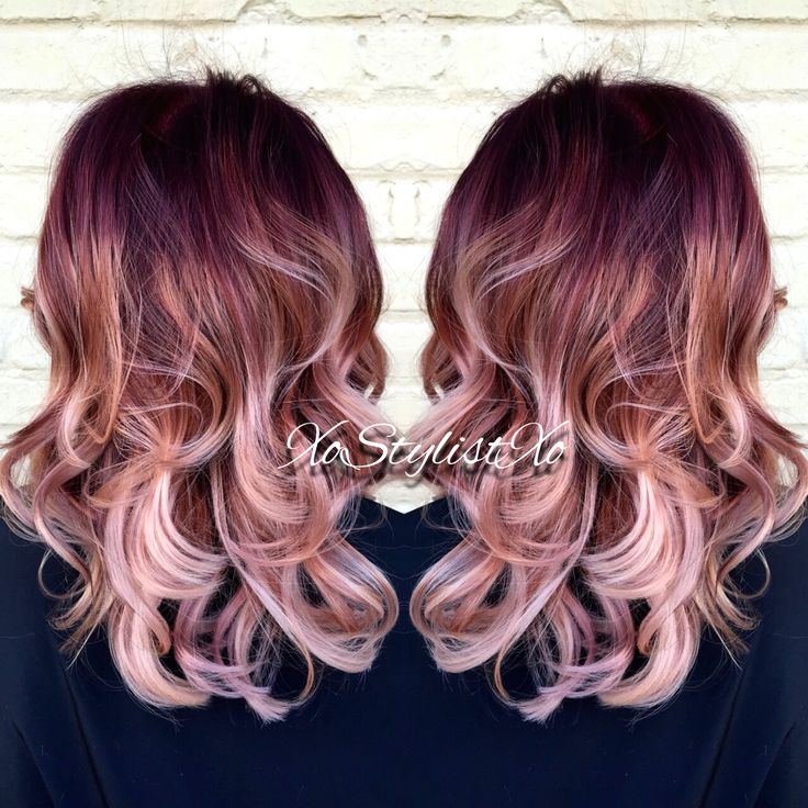 Red violet blush sombre. XoStylistXo