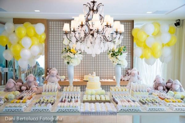 sheep themed baby shower