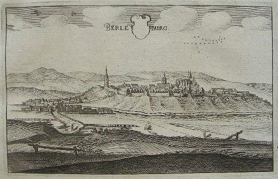 Berleburg Matthäus Merian 1655