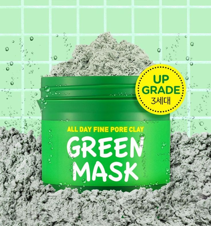 Scinic Compact Pore Sparkling Green Clay Mask Pack 100g #Scinic
