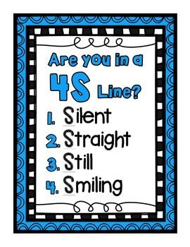 - Are you in a 4S line? - Give Me Five - Reach for Success - Listen has the same letters as silent - Think before you speak - Treat others the way you want to be treated. - Take a stand, lend a hand. - If you can't be kind, be quiet. - Shh... we are testing, please do not disturb.