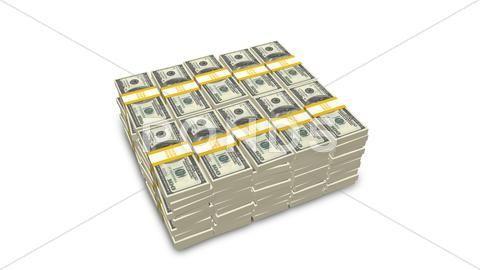 Stack of US 100 dollar bills Stock Photos #AD ,#do…