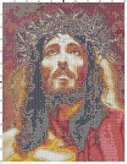 Schemi a punto croce: Gesù di Nazareth