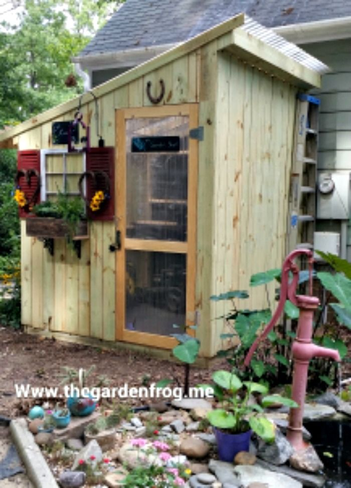 Build A Cute And Unique Garden Shed With Pickets For #300