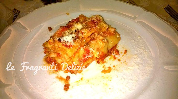 Lasagne bolognesi al ragù