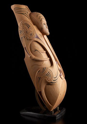 Toi Mauri • A Rising Force by Todd Couper, Māori artist (KC140301)
