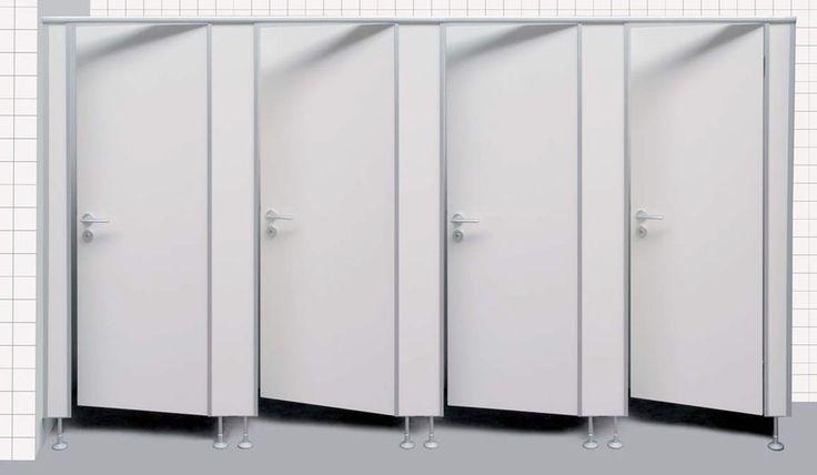 WC-Trennwände Toilettentrennwand WC Abtrennungen