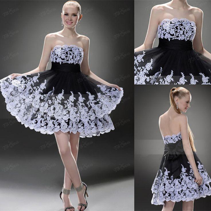 Newest Designed 2014 Free Shipping Appliqued Cocktail Dresses Vestidos de Festa Vestido Longo Homecoming Dresses UK Online $127.93