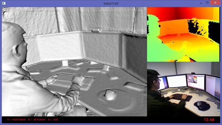 Screen Capture of InfiniTAM