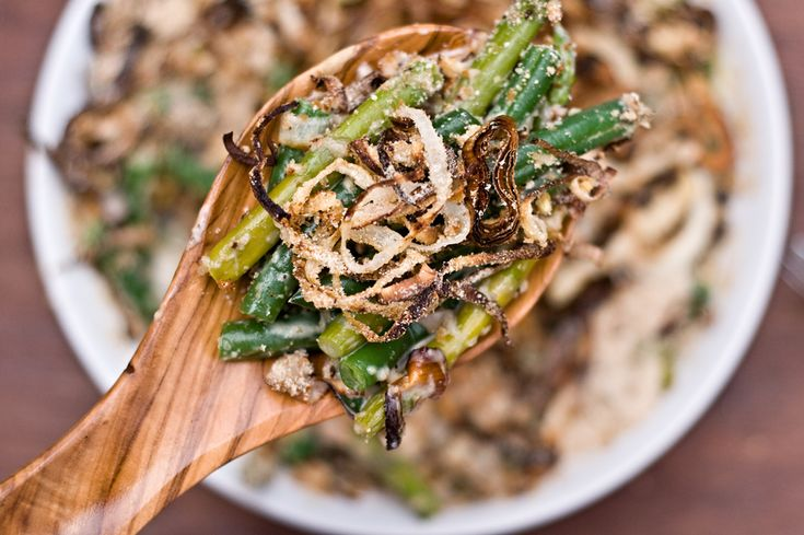 Homemade Green Bean Casserole, the Grown-up, Food Lovers Version - Domestic Fits