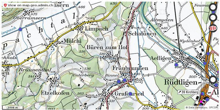 Fraubrunnen BE Handy antennen netz Natel http://ift.tt/2hOV9AX #geoportal #schweiz