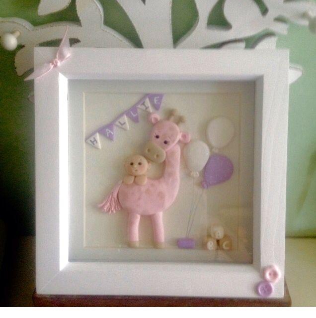 Cute personalised baby gift keepsake made to order