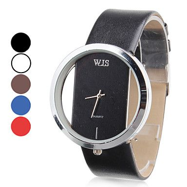 Women's Watch Fashionable Transparent Case – USD $ 3.95