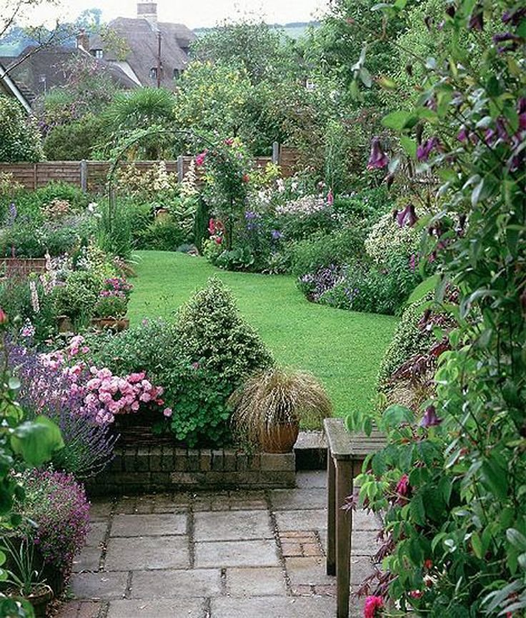 English garden style