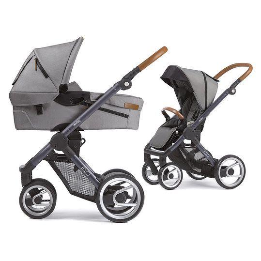 NEU Mutsy Kinderwagen EVO - Light Grey darin ist Dein Baby komfortabel und gut geschützt unterwegs