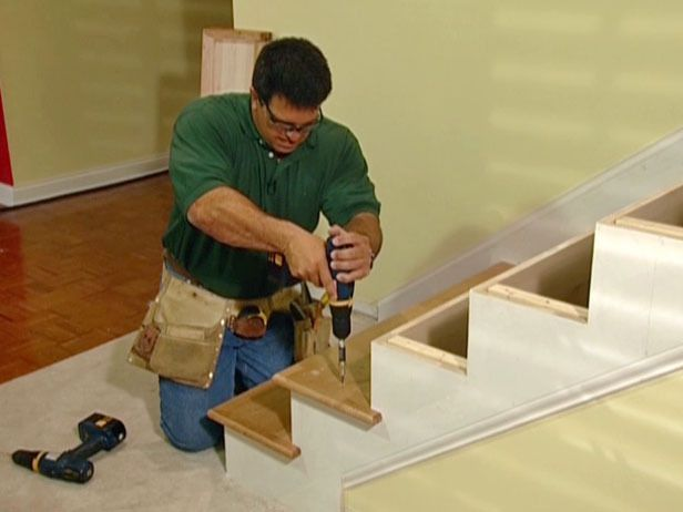 DIY Network how to update your staircase