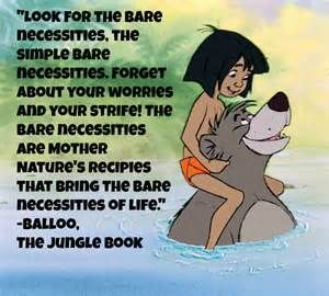 disney images and quotes from the jungle book: