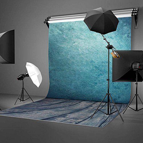 BPS 250W 5500K kit Paragua Fotografía iluminación estudio fotográfico - soporte y 3 x telón de fondo(1.6x3m) + 2 x paragua reflector y soporte(0.8-2m) + bolsa, equipo de luz continua para vídeo y fotografía