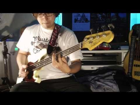 マキシマムザホルモン上ちゃんと違う奏法でブラック¥パワーGメンスパイのベース弾いてみた!