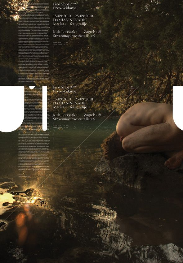 FirstShot 2010 Posters by Sensus Design Factory Zagreb, via Behance