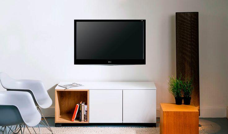 Shop ons tv-meubel Floor via http://100procentkast.nl/kasten-op-maat/tv-meubel/tv-meubel-floor/