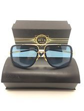 6191e9e78d DITA MACH ONE DRX-2030-H NAVY TITANIUM With 18K GOLD SUNGLASSES 59-17-127  NEW!!!