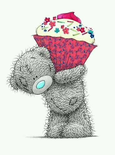 Tatty Teddy with Cup Cake
