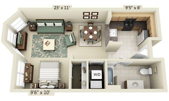 Studio Apartment Floor Plans - Building Plans Online | #85386