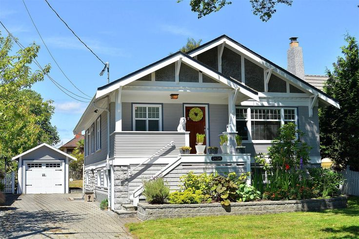 c. 1922 craftsman bungalow located at: 2424 Beach Drive Victoria, British Columbia,V8R6K1Canada