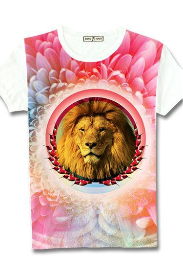 Lion Print t-Shirts  #ShoppingIS shoppingis.me