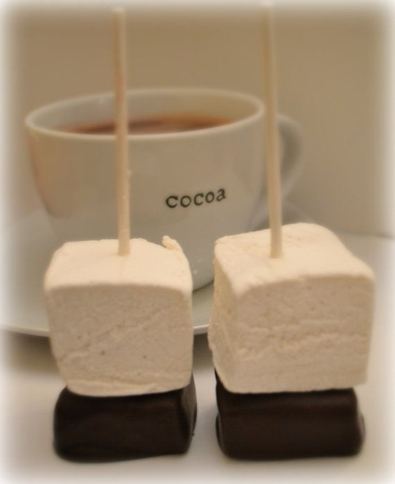 Gourmet Hot Chocolate and Marshmallow Pops  by DaniellesSweetShop, $15.00