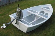 Dixi Dinghy stitch  glue plywood boat plans for amateur boatbuilders