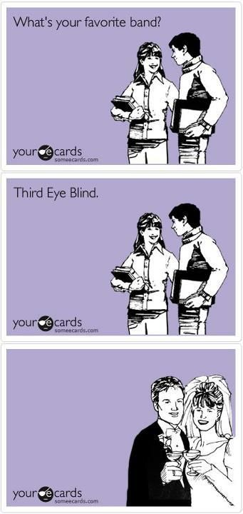 This is great. <3 Third Eye Blind.